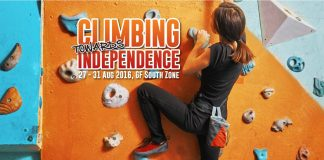 Climbing Towards Independence in Queensbay Mall