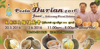 Penang Durian Festival 2016